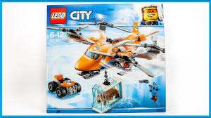 LEGO 60193 <b>City Arctic</b> Expedition Helicopter Speed Build - YouTube