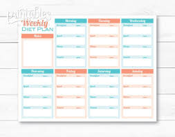 Weight Loss Menu Planner Template Weight Loss Planner Template Major Magdalene Project Org