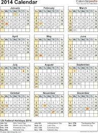 Microsoft Word Calendar 2014 Template Packed With Excel Free