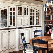 rustic white cabinets. Built In China Cabinets The Dining Room. Love Distressed White Painted Cabinetry This One..Colorado Rustic Kitchen Gallery - JM Denver