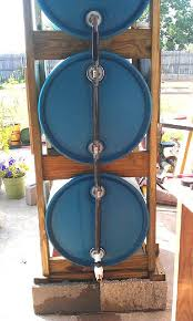 picture of build a 3 drum rain collection system better