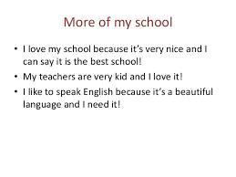 for my school essay for my school