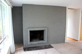 ideas for refinishing a brick fireplace farmhouse design and