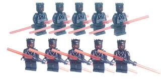 minifigure star wars darth maul double bladed lightsaber darth vader stormtrooper clone trooper minifigs captain building block