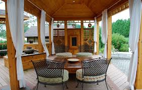 pergola patio curtains for privacy