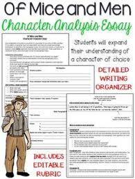 the great gatsby character analysis five paragraph essay of mice and men character analysis five paragraph essay