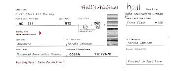 Airline Ticket Template Word Awesome Free Airline Ticket Template For Gift Blank Download Thecoffeebarco