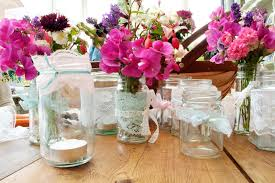 decoration: Amusing Wedding Table Centerpiece Created Using Simple Diy Table  Decorations Enhanced With Beautiful Flowersband