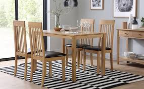 gallery milton dining table and 4 chairs