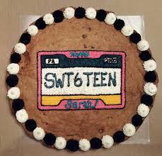 License Plate Sweet 16 Cookie Cake Cookie Cakes Cookie Cake