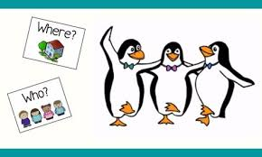 Asking and Answering Questions- Tacky the Penguin | Small Online Class for  Ages 4-6 | Outschool