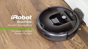 irobot roomba 980 wifi connected robot vacuum