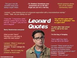 Big Bang Theory Quotes Enchanting Quote Pictures The Big Bang Theory Leonard Quotes