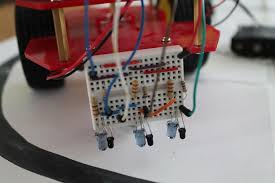 easy steps for making a line following robot using infrared led the