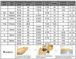 Italian Ring Size Chart Ring Size Conversion Chart Us To Brazil Bedowntowndaytona Com