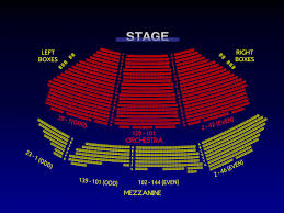 Hayes Theater Seating Chart 14 Skillful Winter Garden Theatre Nyc