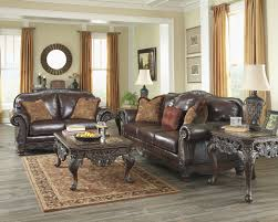 ashley sofa and loveseat. Ashley Furniture North Shore Plus Leather Coffee Sofa Loveseat Click To Enlarge And I