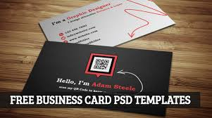 business card psd template free business cards templates downloads 26 free business card