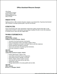 Resume Format For Jobs Simple Resume Format Job Resumes Examples ...