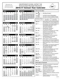 Isd 196 2016 17 School Year Calendar Independent School District 196