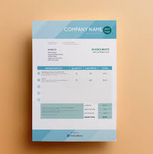 Indesign Invoice Template Free Invoice Templates By InvoiceBerry The Grid System 2