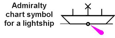 Racon Chart Symbol Sailtrain Buoyage Lightships