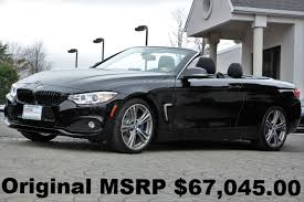 BMW 4-Series 435i Convertible 2015 Technology PKG 19″ Wheels Head ...