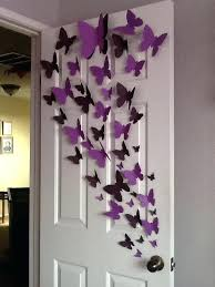 homemade wall decoration ideas for bedroom erfly wall art home decorate wall art bedroom wall art homemade wall decoration