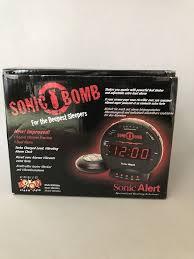 sonic alert sbb500ss sonic loud dual alarm clock with bed shaker 696231410178