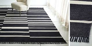 striped cotton rug z gallerie area rugs