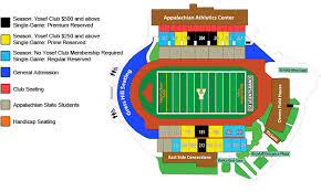 Kidd Brewer Stadium Diagram Appalachian State University
