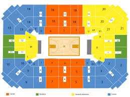 K State Basketball Seating Chart Exhibition Fort Hays State Tigers At Kansas Jayhawks
