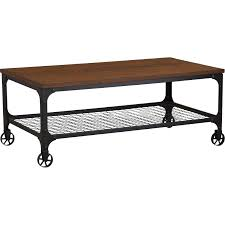 Industrial Coffee Table Mercury Row Corvus Rectangle Industrial Coffee Table Reviews