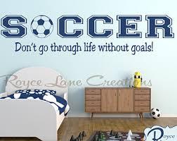 Ideas  Soccer Bedroom Decor In Fascinating Etikaprojects Do It Soccer Bedroom Decor