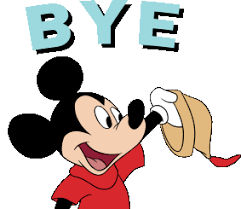 Mickey Mouse Bye GIF - MickeyMouse Bye Waving - Descubre & Comparte GIFs