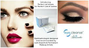 make up the best ever eyelid wipes safe for lash extensions