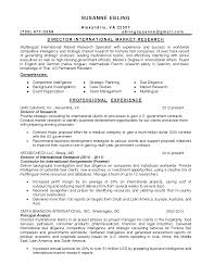 Research Specialist Sample Resume