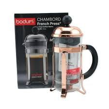 bodum chambord milk frother review french press coffee maker copper replacement glass