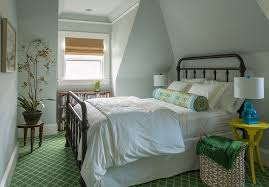 boston kelly wearstler bedding bedroom traditional with green and