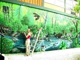 wall art decor australia outside outdoor ideas pretentious idea large size of garden murals exterior