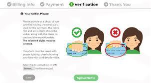 changelly bitcoin verification selfie