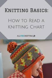 How To Read A Knitting Pattern Inspiration How To Read A Knitting Chart Knitting Charts Knit Patterns And Chart