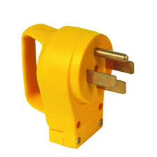 camco 50 amp power grip replacement male plug 55255 the home depot