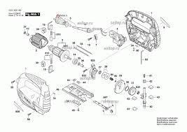 Запчасти для <b>лобзика Bosch GST</b> 65 B (3601E09120). SelTop.ru
