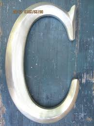 recent letter c decor groundball samples wall large silver letters for walls interesting fresh decorative metal