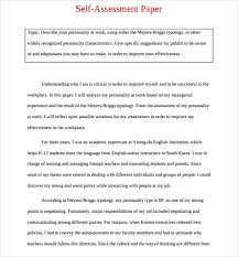self evaluation template co self evaluation template