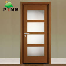 4 panel tempered glass insert with