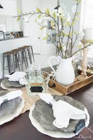 Dining Room Update A Coastal Farmhouse Table Setting Table And Hearth Beauteous Dining Room Table Settings Decoration