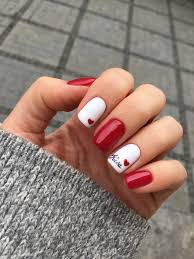Red And White Nail Designs Summer Nail Designs Red Confession Of Rose