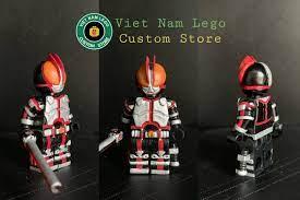 Kamen Rider - 555 - Vietnam Lego Custom Land